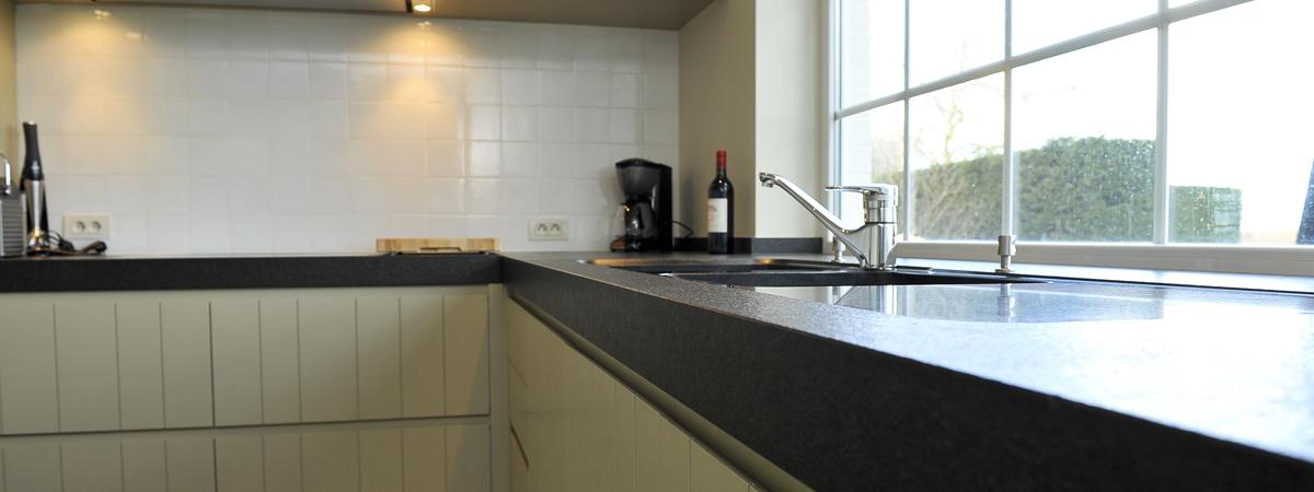 Keukenrenovatie Bedrijf : Keukenrenovatie X Habitat Construct Wingene