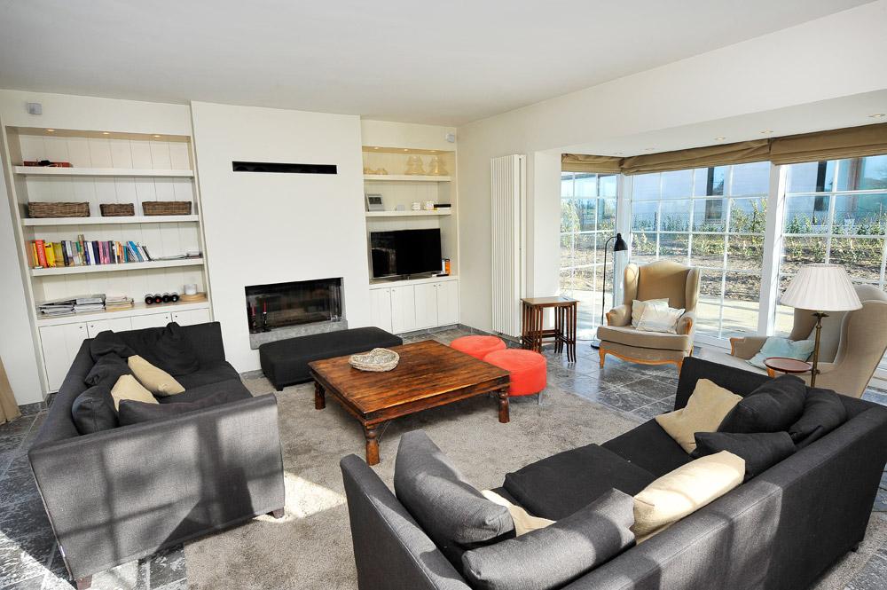 Totaal interieur binneninchting villa koksijde habitat for Interieur villa