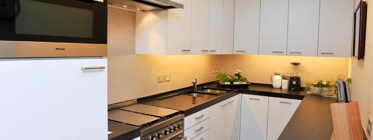 Badkamer en keukenrenovatie Habitat Construct Wingene