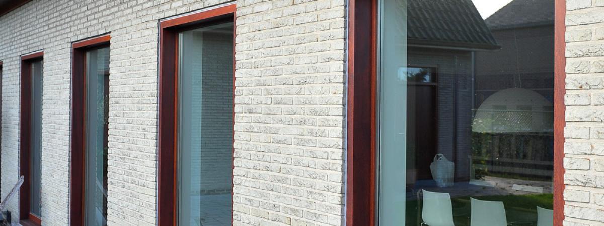 Keukenrenovatie Hout : Hout Buitenschrijnwerkt VD Habitat Construct Wingene